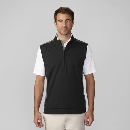 Stretch Wind Half Zip Pullover Vest