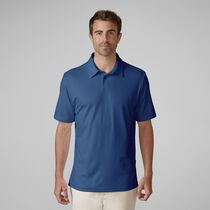 Matte Interlock Solid Golf Shirt