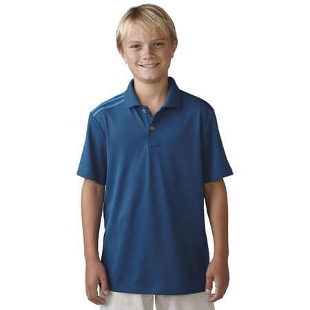 Boys Climacool 3-Stripe Polo