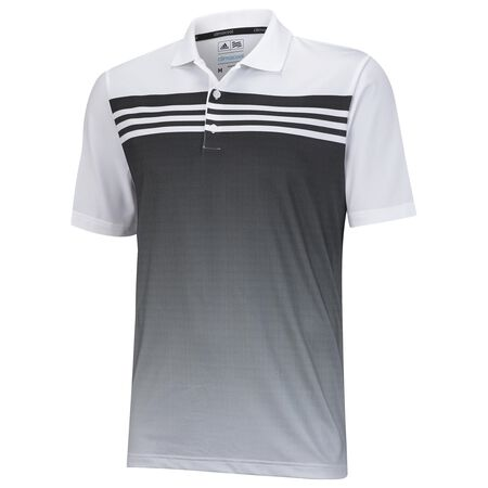 Junior ClimaCool 3 Stripes Gradient Polo
