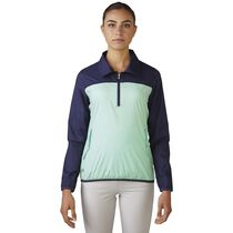 Packable 1/4 zip wind tech