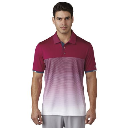 climachill Gradient Stripe Polo
