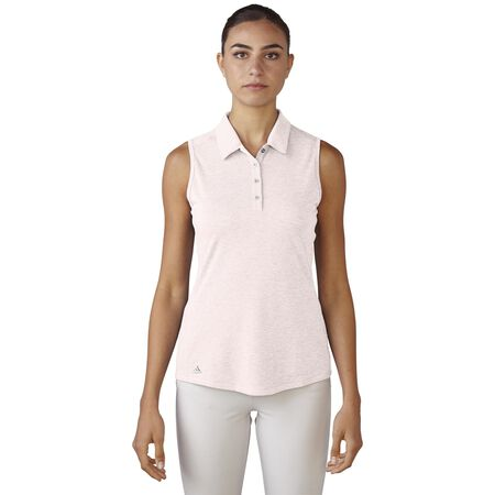 Climalite  Heather Sleeveless Polo
