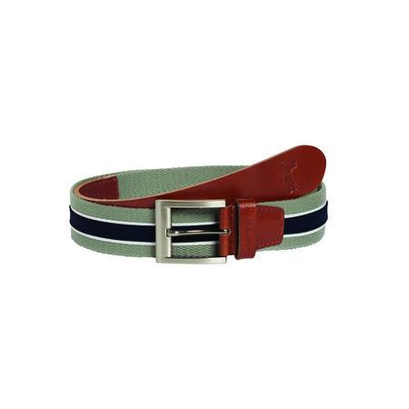 Leather Cotton Belt
