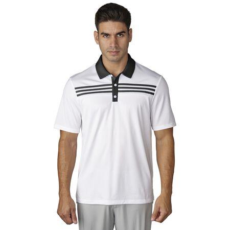 3-Stripes Textured Polo