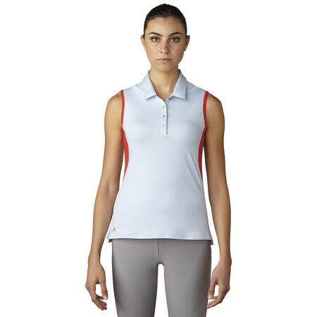 Essentials 3-Stripes Sleeveless Polo
