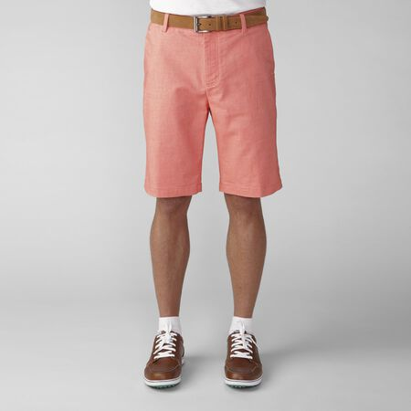 2 Tone Cotton Blend Twill Short