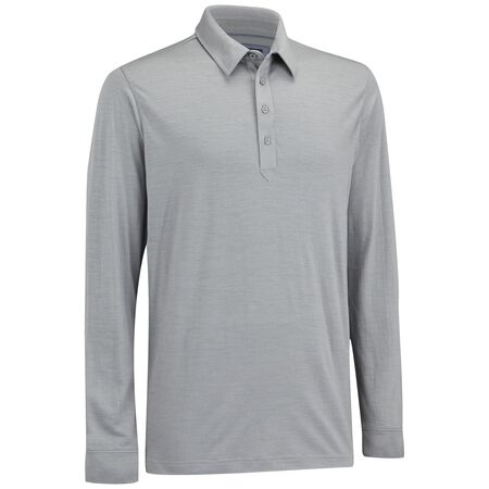 Long Sleeve Merino Golf Shirt