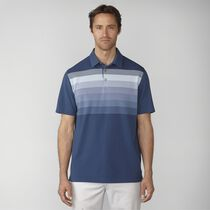 Gradation Stripe Pique Polo