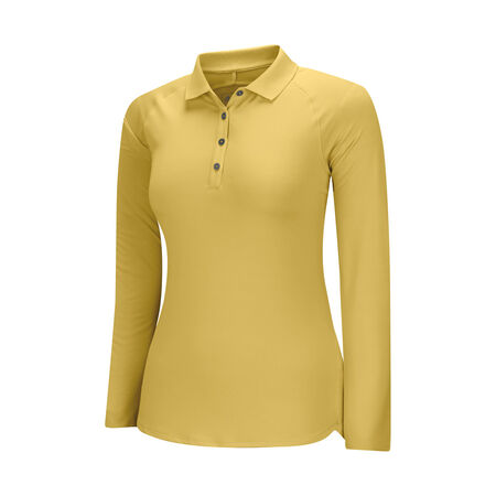 climalite essentials 50+ upf long sleeve polo