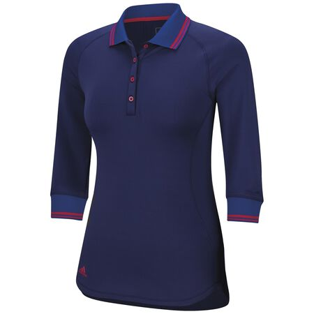 Advance Fall Weight 3/4 Sleeve Polo