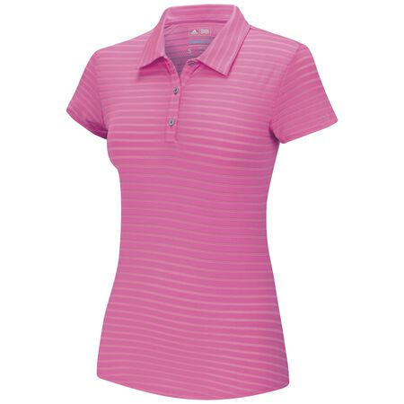 Climacool Tour Mesh Stripe Short Sleeve Polo