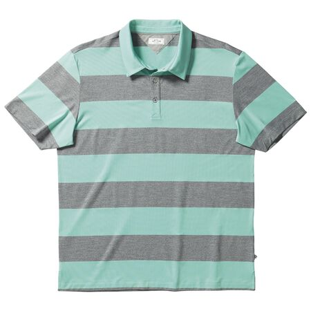 adiPure Pique Rugby Stripe Polo