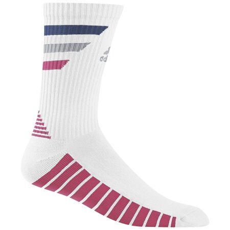 Single 3-Stripe Crew Socks