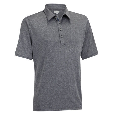 Matte Interlock Solid Polo