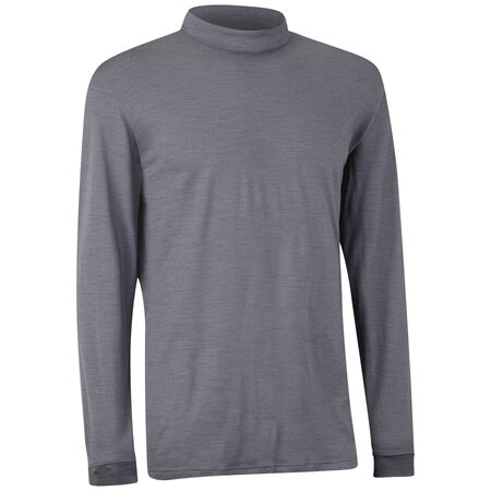 Merino Wool Long Sleeve Mock