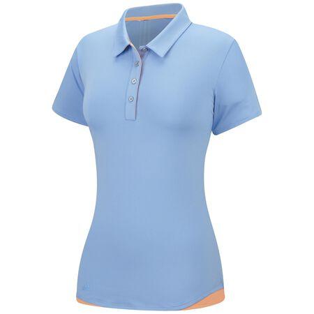 3-Stripe Short Sleeve Polo