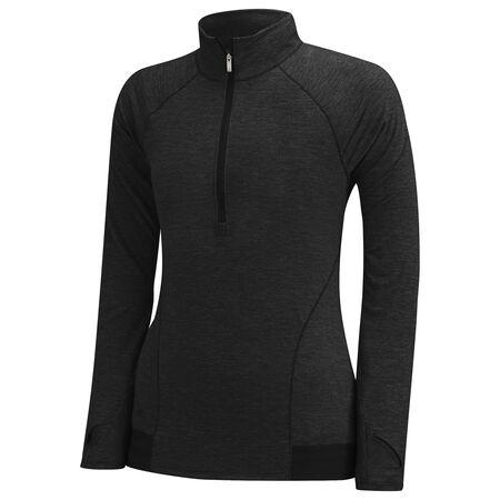 Girls Advanced Heathered Rangewear Jacket 1/2 Zip