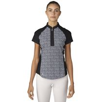 Fashion Print  Short Sleeve Polo
