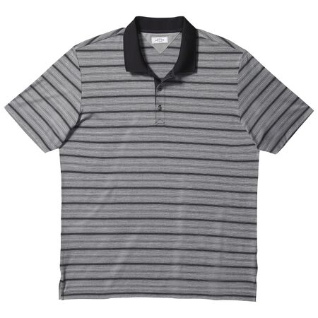 adipure variegated stripe polo