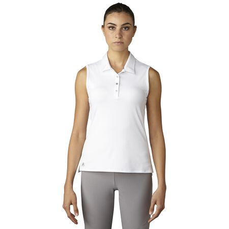 Essentials 3-Stripes Sleeveless Polo