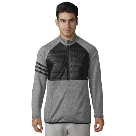 climaheat COMPETITION QUILTED 1/2 ZIP PULLOVER