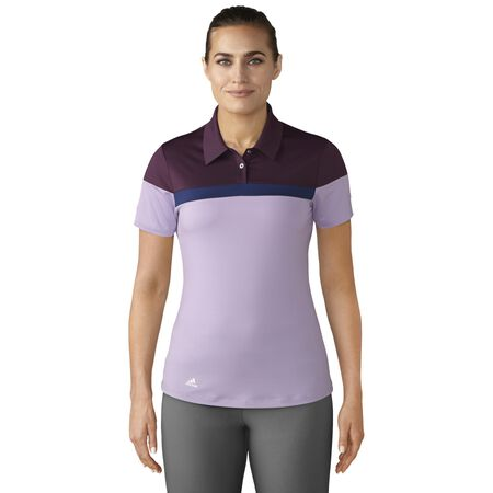 COLOR BLOCKED SHORT SLEEVE POLO