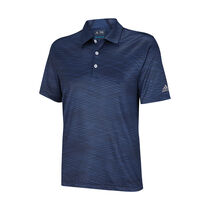 climachill collar channel print polo