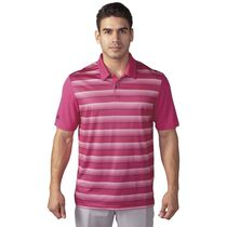 performance stripe polo