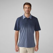 PRIMATEC Cotton Linen Ombre Stripe Shirt