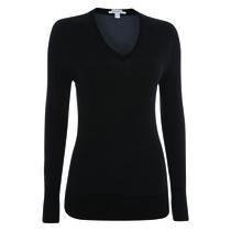 Ladies Merino V-Neck Sweater