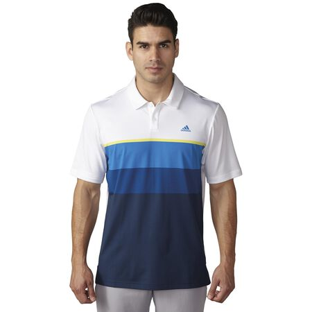 climacool®  Engineered Striped Polo