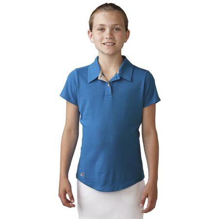 Girls Climalite Essentials Heatherd Polo