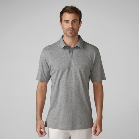 Cotton Linen Heather Golf Shirt