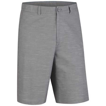 Cotton Blend Chambray Short