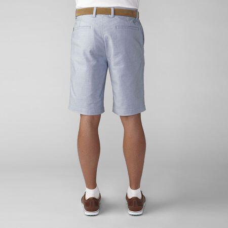 2 Tone Cotton Blend Twill Short
