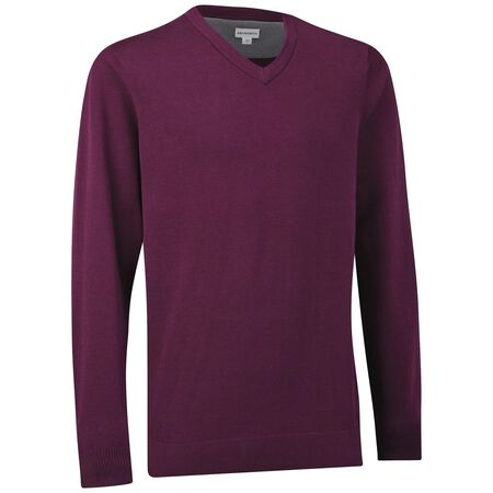 Pima V-Neck  Sweater