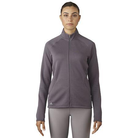 Essentials 3-Stripe Full Zip Layering