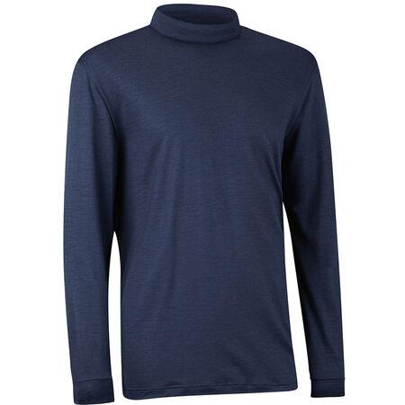Merino Wool Long Sleeve Mock