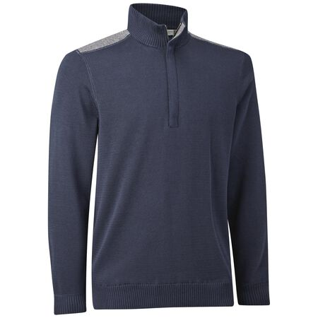 Gassed Pima Wind Lined Sweater
