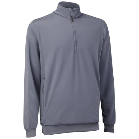 French Terry Half Zip Wind Sweater