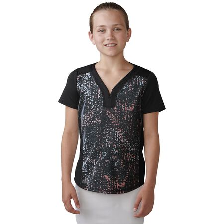 Girls Essential Mesh Polo