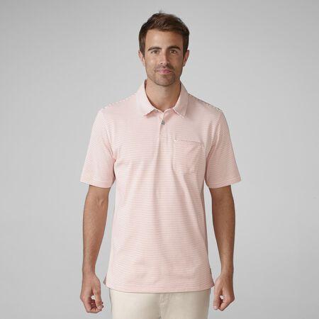 Jersey Mini Stripe Pocket Golf Shirt