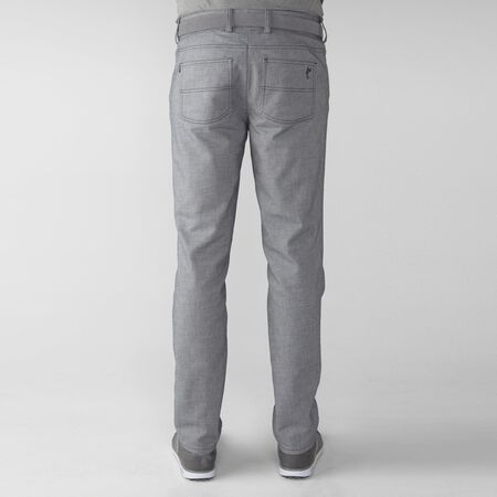 2 Tone Cotton Blend Twill 5-Pocket Pant