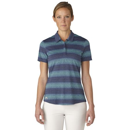 Melange Stripe Polo