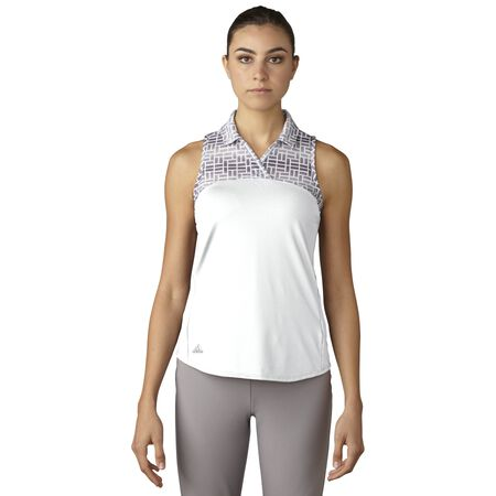Printed Sport Mesh Sleeveless