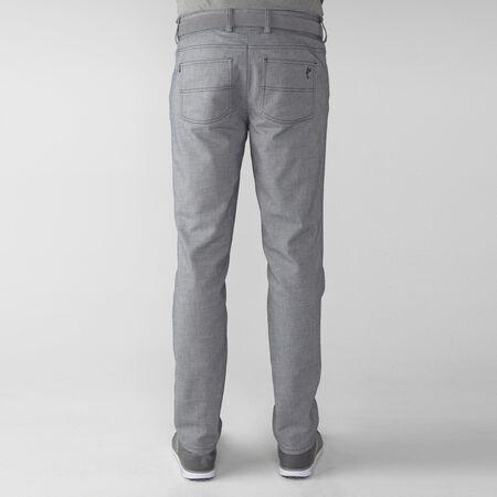 2 Tone Cotton Blend Twill 5-Pocket Pant