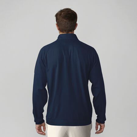 Stretch Wind Half Zip Pullover
