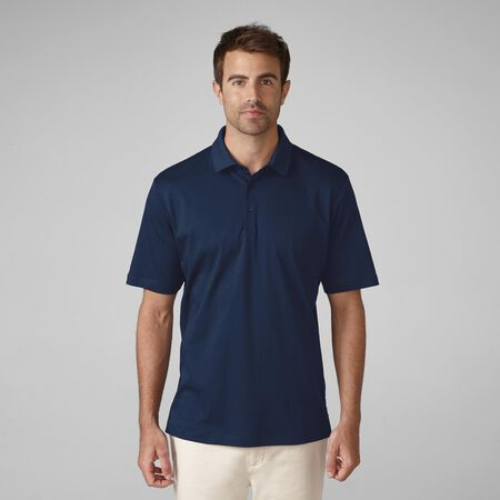 Premium Cotton Interlock Solid Golf Shirt