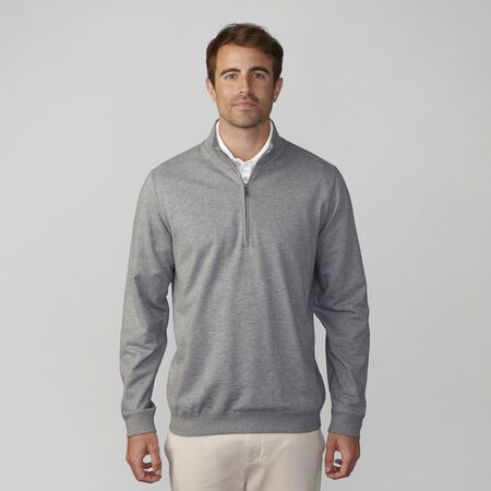 Slub French Terry Half Zip